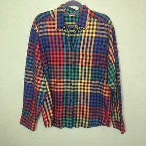 Vintage Mondi West Germany Button Down Shirt Med